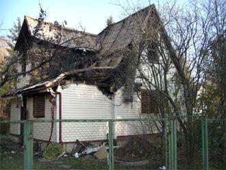 Оценка садового дома в СНТ после пожара
