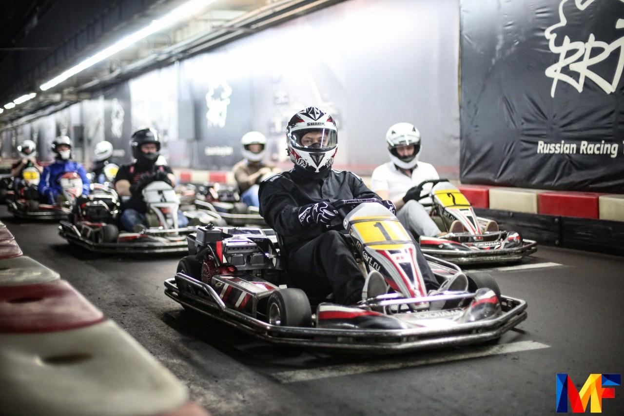Команда ABN GROUP приняла участие в «Financial Karting Cup»
