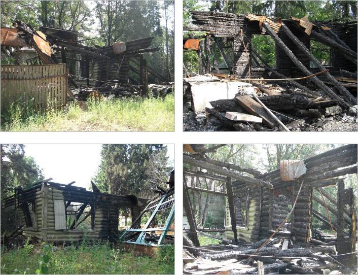 Оценка жилого дома после пожара
