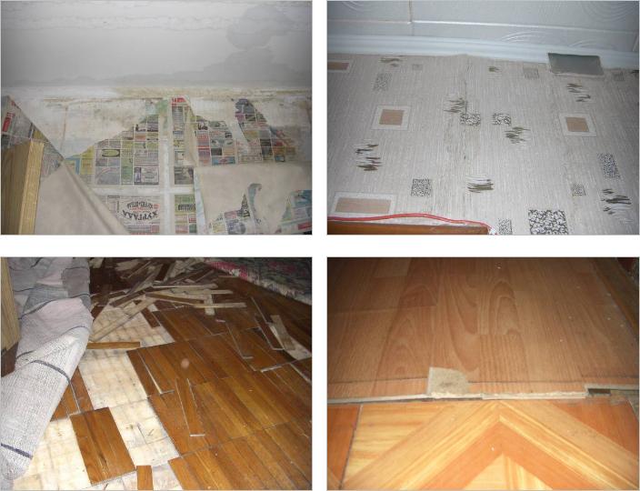 Оценка квартиры в Москве, пострадавшей от залива